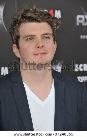 "Erik Knudsen at the world premiere of ""Scream 4"" at Grauman's Chinese Theatre, Hollywood, April 11, 2011  Los Angeles, CA Picture: Paul Smith / Featureflash"
