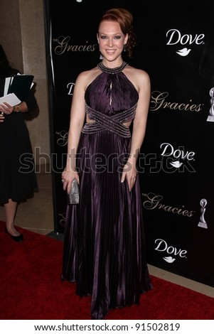 Erin Cummings at the 36th Annual Gracie Awards Gala, Beverly Hilton Hotel, Beverly Hills, CA. 05-24-11