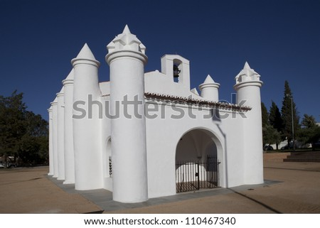 Ermida de Santo Andre, Beja, Portugal - stock photo