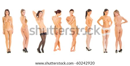 Erotic Models - stock photo