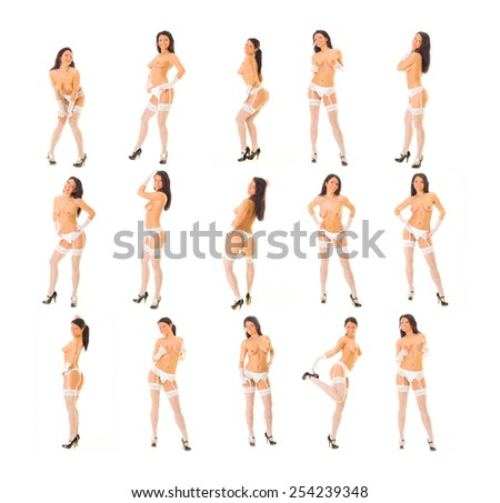 Erotica Female Beauty  - stock photo