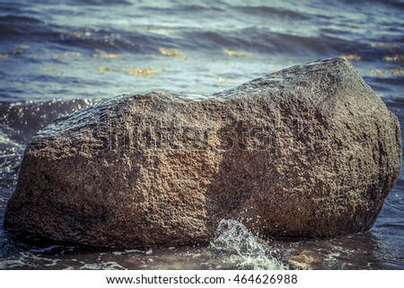 Erratic block - Baltic Sea