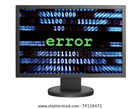 Error - stock photo