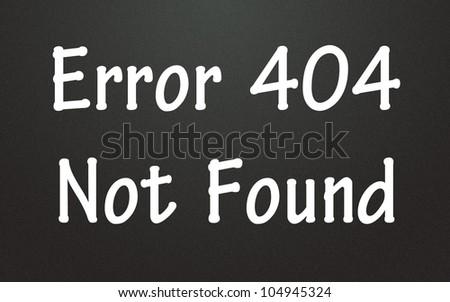 error 404 not found symbol - stock photo