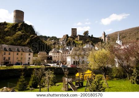 Esch sur Sure - Luxembourg - stock photo