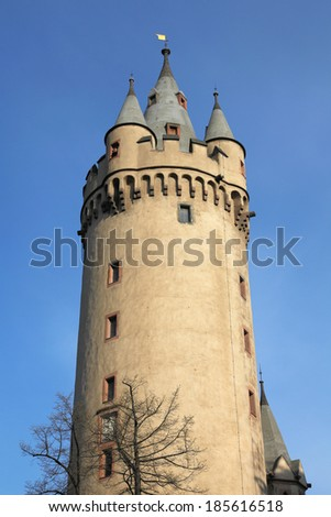 Eschenheimer tower, Frankfurt - stock photo
