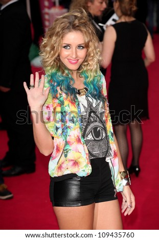 Esmee Denters arriving for the 'Katy Perry, Part Of Me 3D' premiere, at Empire Leicester Square, London. 03/07/2012 Picture by: Alexandra Glen / Featureflash