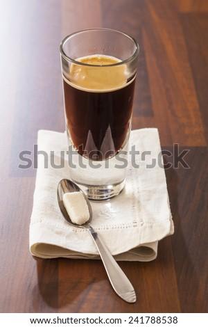 Espresso doppio - stock photo