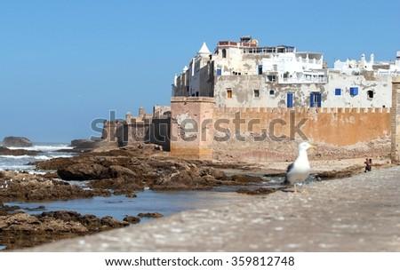 Essaouira Fortress, Morocco - stock photo
