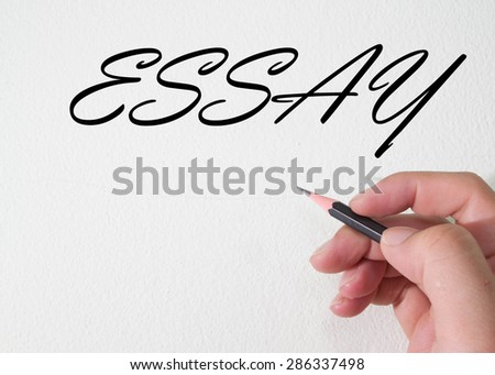 essay writing stock images royalty images vectors essay word write on wall