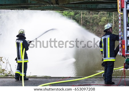 Essen Kettwig, Nrw, Germany - April 28, 2016: