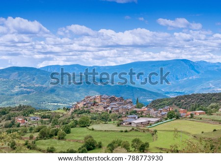 Estamariu is a municipality in the comarca of Alt Urgell, Lleida, Catalonia, Spain.