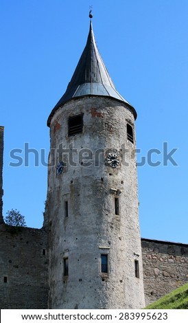 Haapsalu Castle Stock Photos Royalty Free Images Vectors