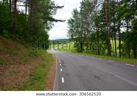 Estonian road