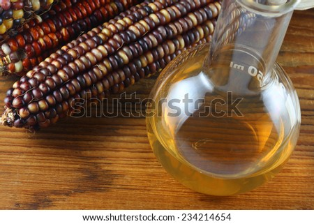 Ethanol fuel - stock photo