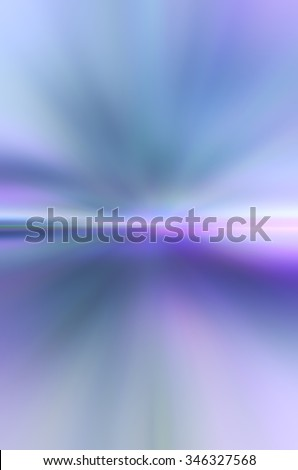 Ethereal horizon: Otherworldly pastel abstract blur with predominance of blues for background with themes of mystery, eternity, the unknown - stock photo