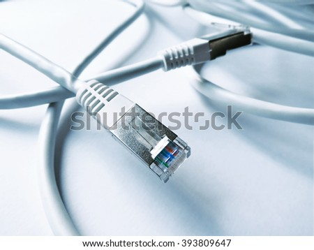 Ethernet Cables, internet connection. Power cables.