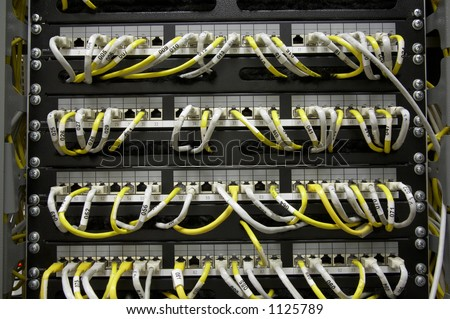 Ethernet patch panel