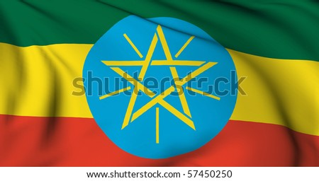 Ethiopia flag World flags Collection
