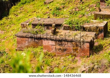 Ethiopian monolitic church, Lalibela, Ethiopia - stock photo