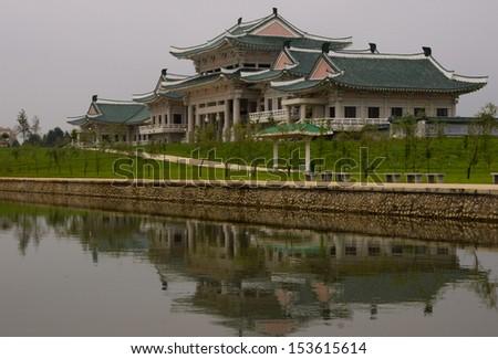 Ethnographic park, North Korea, Pyongyang - stock photo