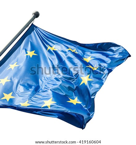 EU flag - stock photo