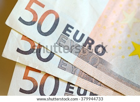 Euro currency, official standard currency of the Eurozone which consists of 19 countries