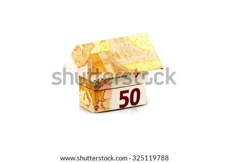 Euro house - stock photo