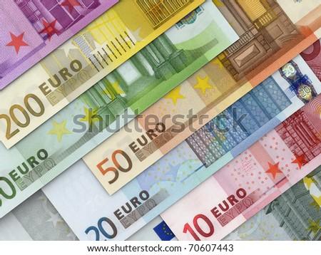 Euro Money - stock photo