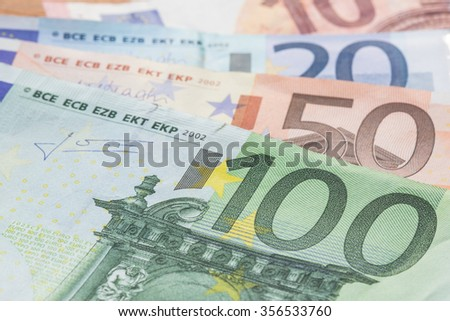 Euro money bank for your budget to investment.