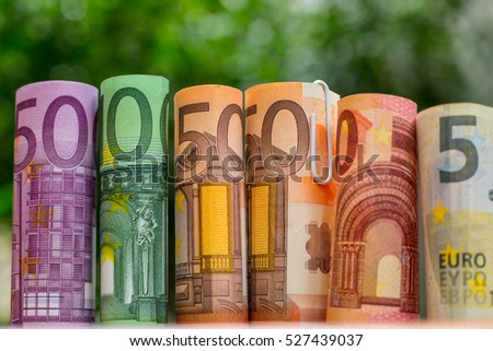 Euro money bank ,save for your budget travel.