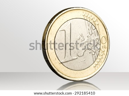 Euro Symbol, Coin, European Union Currency. - stock photo
