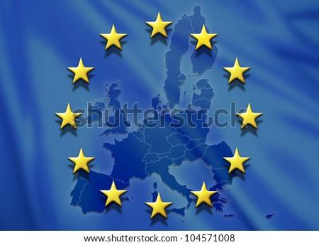 EUROPE 1 - stock photo