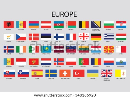 Europe Flag Collection
