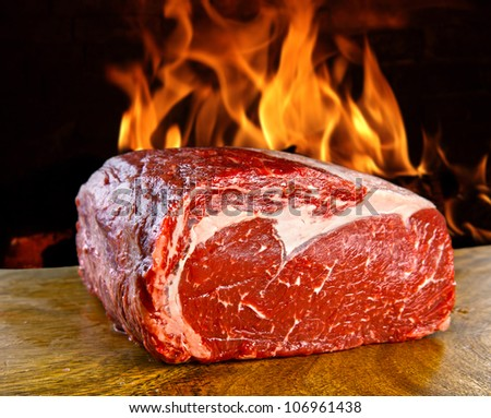 European beef breed - stock photo