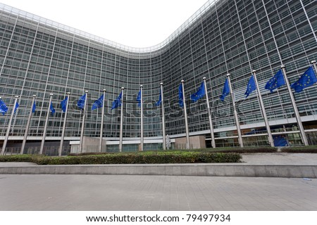 European Commission building in Brussels