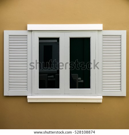 Close Black Front Door On House Stock Photo 249954055