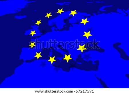European Union - stock photo