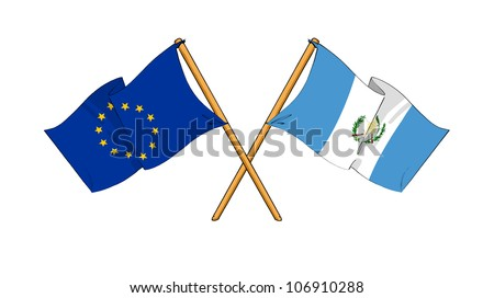 European Union and Guatemala alliance and friendship