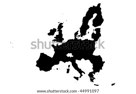 European Union - white background