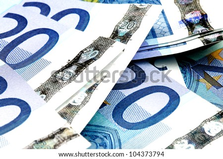 Euros Cash - stock photo