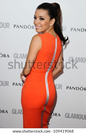 Eva Longoria arriving for the Glamour Women Of The Year Awards 2012, at Berkeley Square, London. 29/05/2012 Picture by: Steve Vas / Featureflash - stock photo
