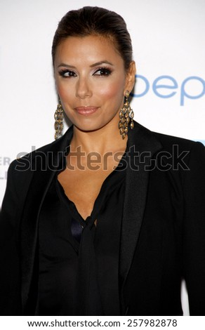 "Eva Longoria at the Los Angeles Premiere of ""Latinos Living the American Dream"" held at the Grauman's Chinese Theater in Hollywood, California, United States on October 21, 2010."