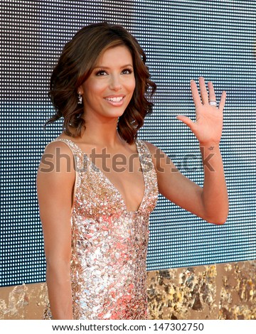 Eva Longoria Emmy Awards 2007 - Arrivals Shrine Auditorium Los Angeles,  CA September 16, 2007 - stock photo