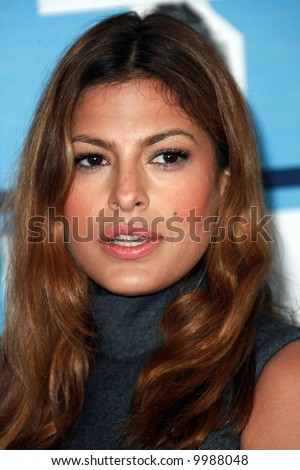 Eva Mendes at the 2008 Film Independent Spirit Awards at Santa Monica Beach, Santa Monica, California.