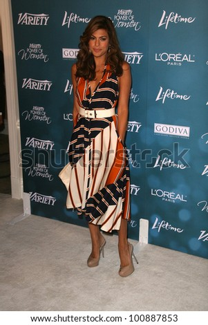 Eva Mendes  at Variety's 2nd Annual Power Of Women Luncheon, Beverly Hills Hotel, Beverly Hills, CA. 09-30-10