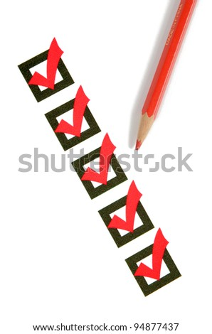 Evaluation - stock photo