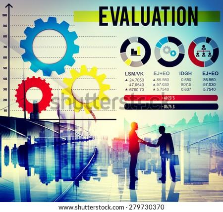 Evaluation Opinion Satisfaction Evaluate Feedback Concept - stock photo