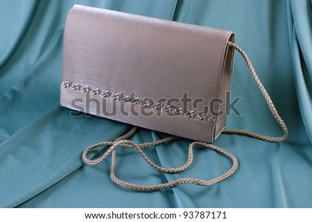Evening bag - stock photo