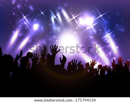 Evening in night club   - stock photo